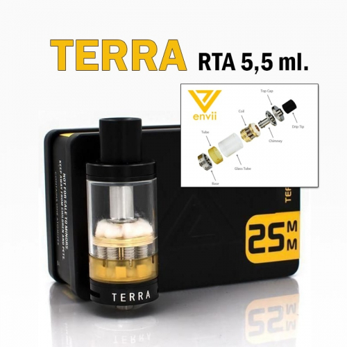 Terra Octo-Coil RTA 5,5ml.